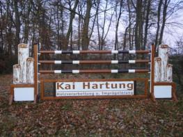 Werbehindernis Kai Hartung