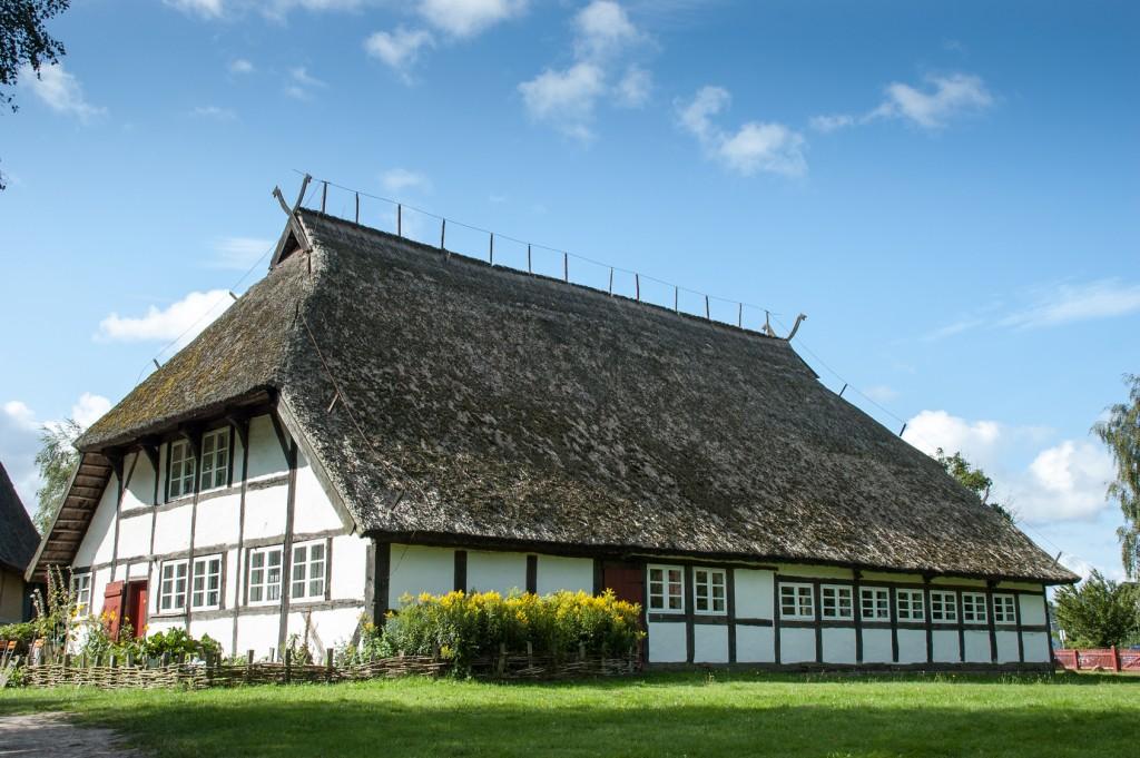 Traditionelles Fachwerkhaus