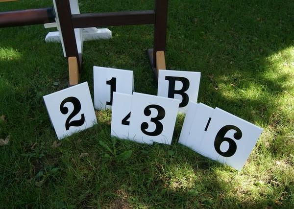 Hindernisnummern