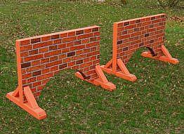 Unterstellteil Natursteinmauer