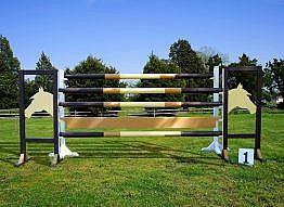 Turnierhindernis Pferdekopf